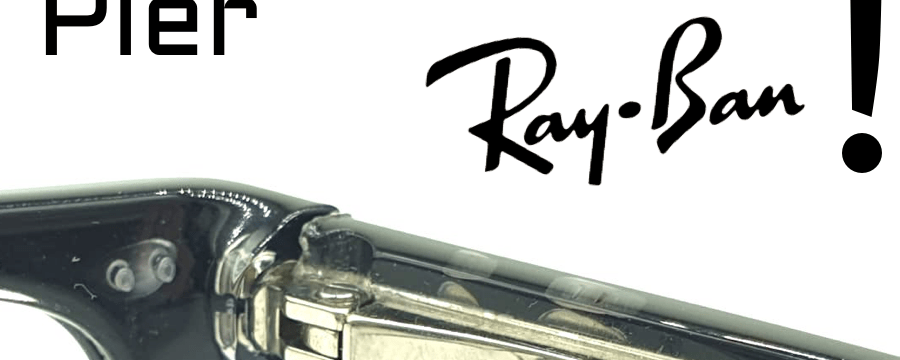 Wie wird der Scharnierbügel mit der Ray-Ban-Feder gewechselt?