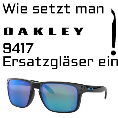 Oakley 9417 Linsenwechsel 1